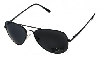 okulary przeciwsłoneczne Voka VS1012 czarne