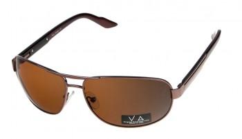 okulary przeciwsłoneczne Voka VS1010 brązowe