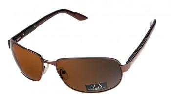 okulary przeciwsłoneczne Voka VS1009 brązowe