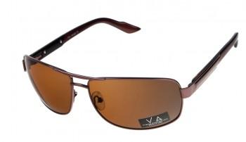 okulary przeciwsłoneczne Voka VS1008 brązowe