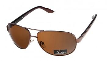 okulary przeciwsłoneczne Voka VS1007 brązowe