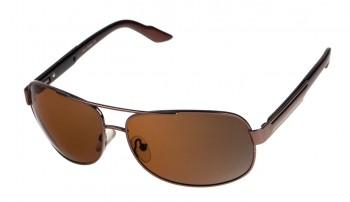 okulary przeciwsłoneczne Voka VS1006 brązowe