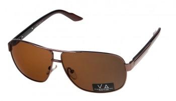 okulary przeciwsłoneczne Voka VS1004 brązowe