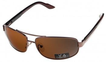 okulary przeciwsłoneczne Voka VS1003 brązowe