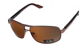 okulary przeciwsłoneczne Voka VS1002 brązowe