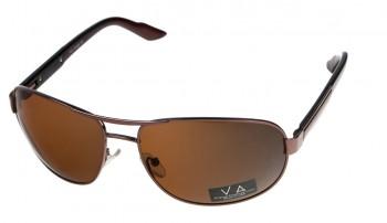 okulary przeciwsłoneczne Voka VS1021 brązowe