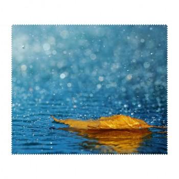 Ściereczka mikrofaza do czyszczenia okularów deszcz