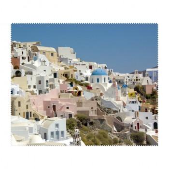 Ściereczka mikrofaza do czyszczenia okularów Grecja