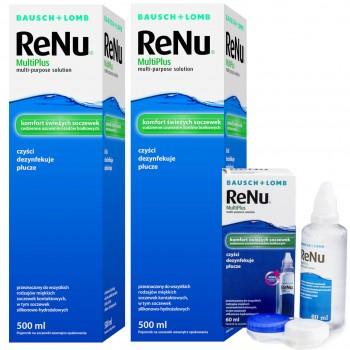 ReNu MultiPlus 2 x 500 ml + 60ml GRATIS
