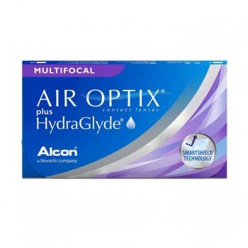 Soczewki progresywne Air Optix HydraGlyde Multifocal 6 szt