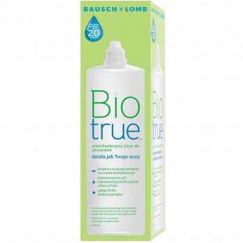 Płyn do soczewek BioTrue 480 ml ECO butelka